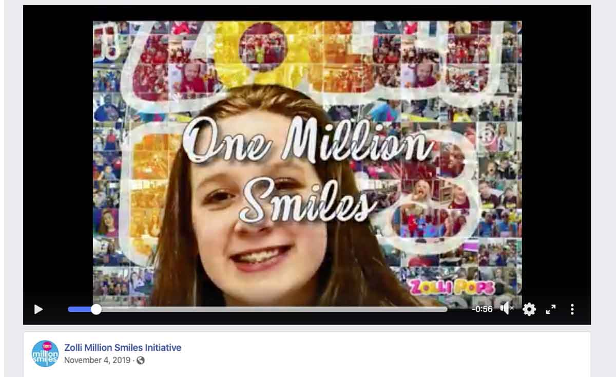 Zolli Million Smiles Initiative