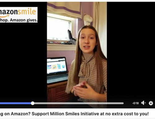 Shopping on Amazon? Support Million Smiles Initiative at no extra cost to you!