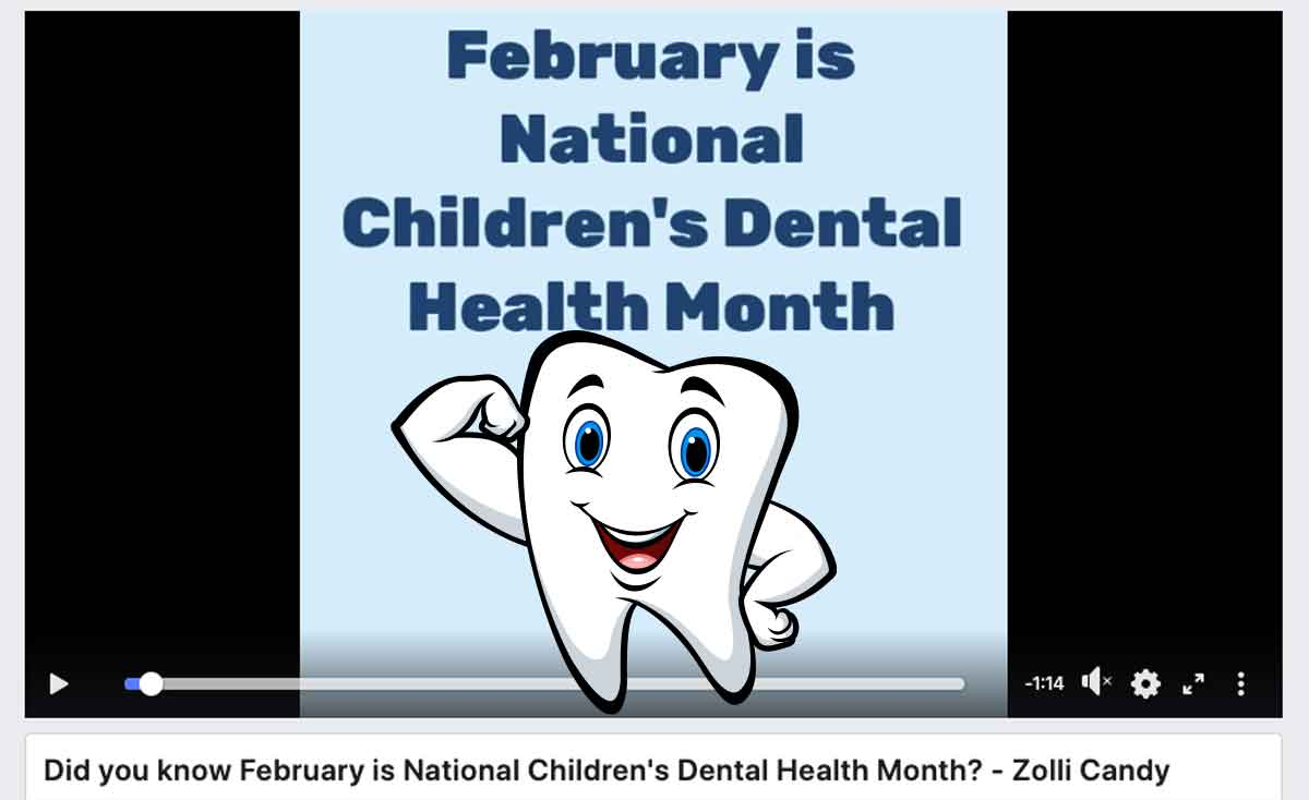 February National Children's Dental Health Month