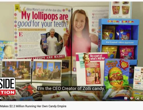 Inside Edition: 14-Year-Old Makes $2.2 Million Running Her Own Candy Empire