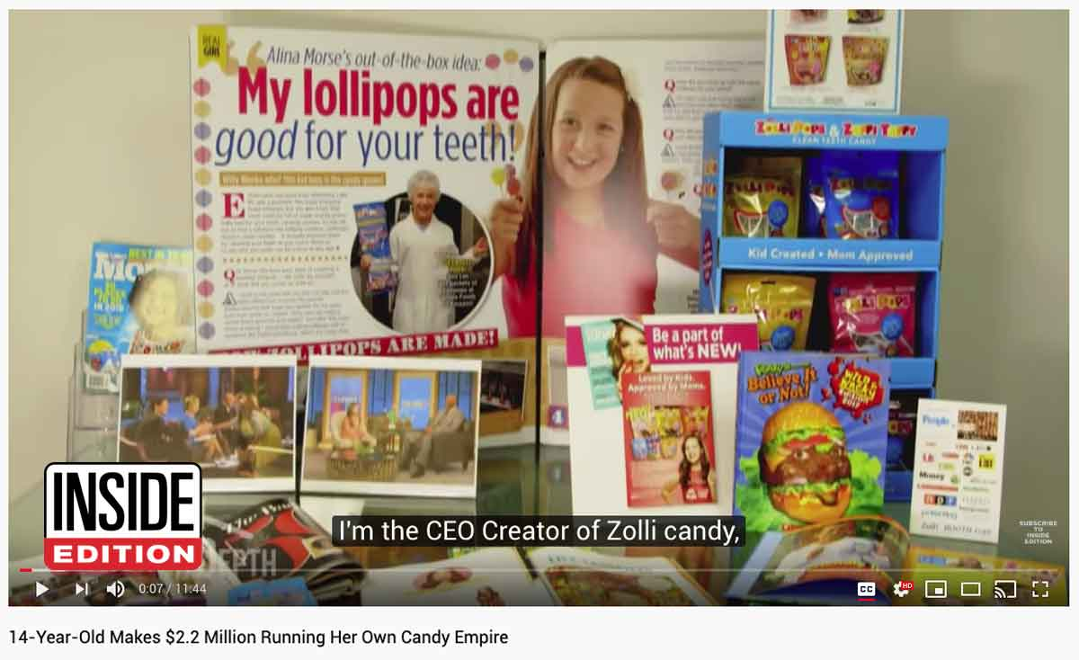 Inside Edition Zolli Candy