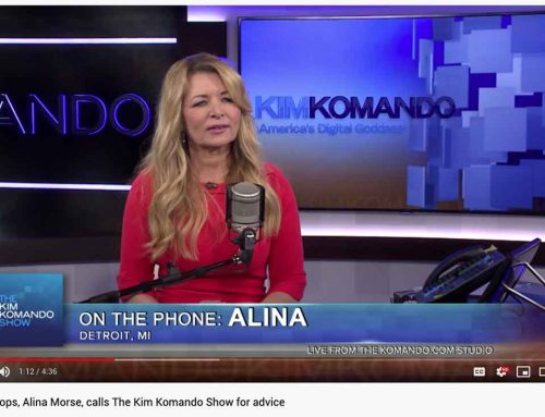 Alina Morse calls The Kim Komando Show for advice